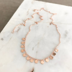 Choker Chain: Dangling Disc