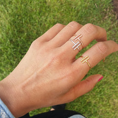 Parallel Stick Ring