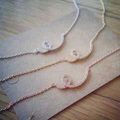 Pave Loop Necklace