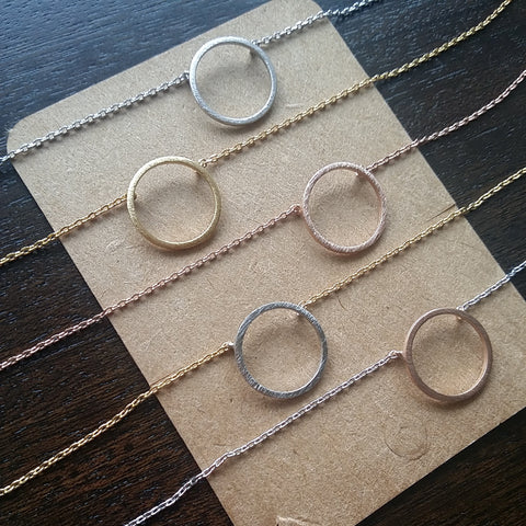 Basic Circle Necklace