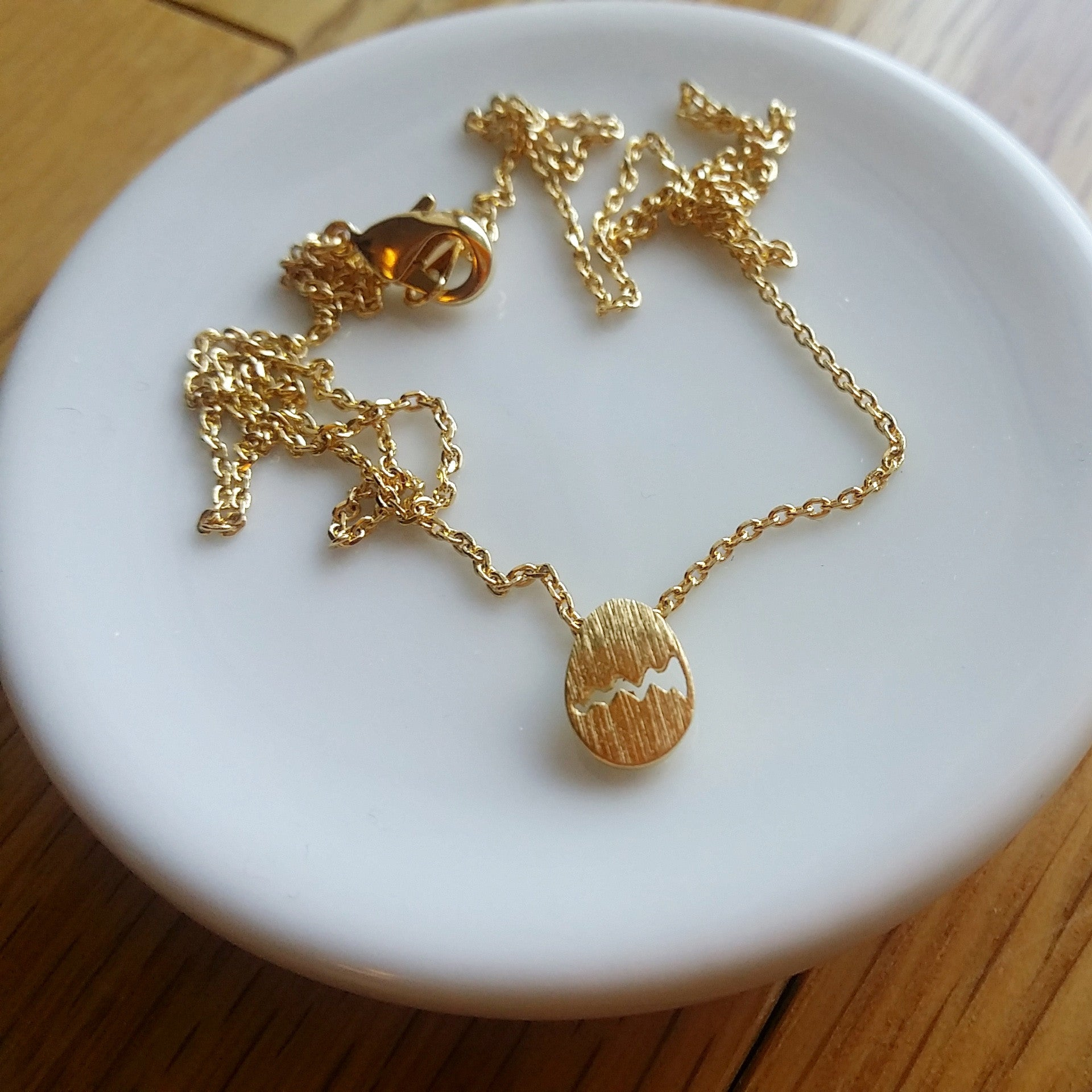 Cracked Egg Necklace