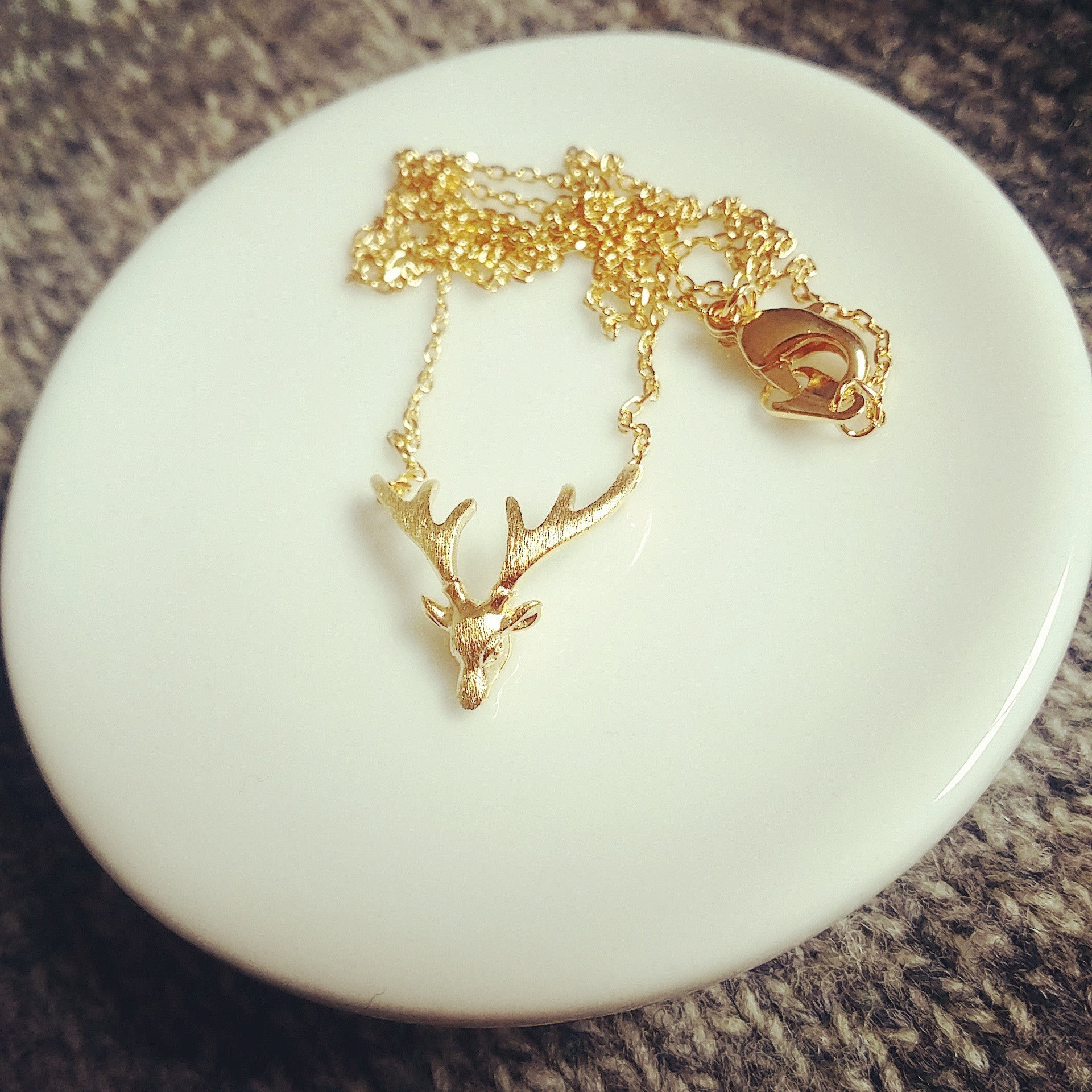 Deer Antler Necklace