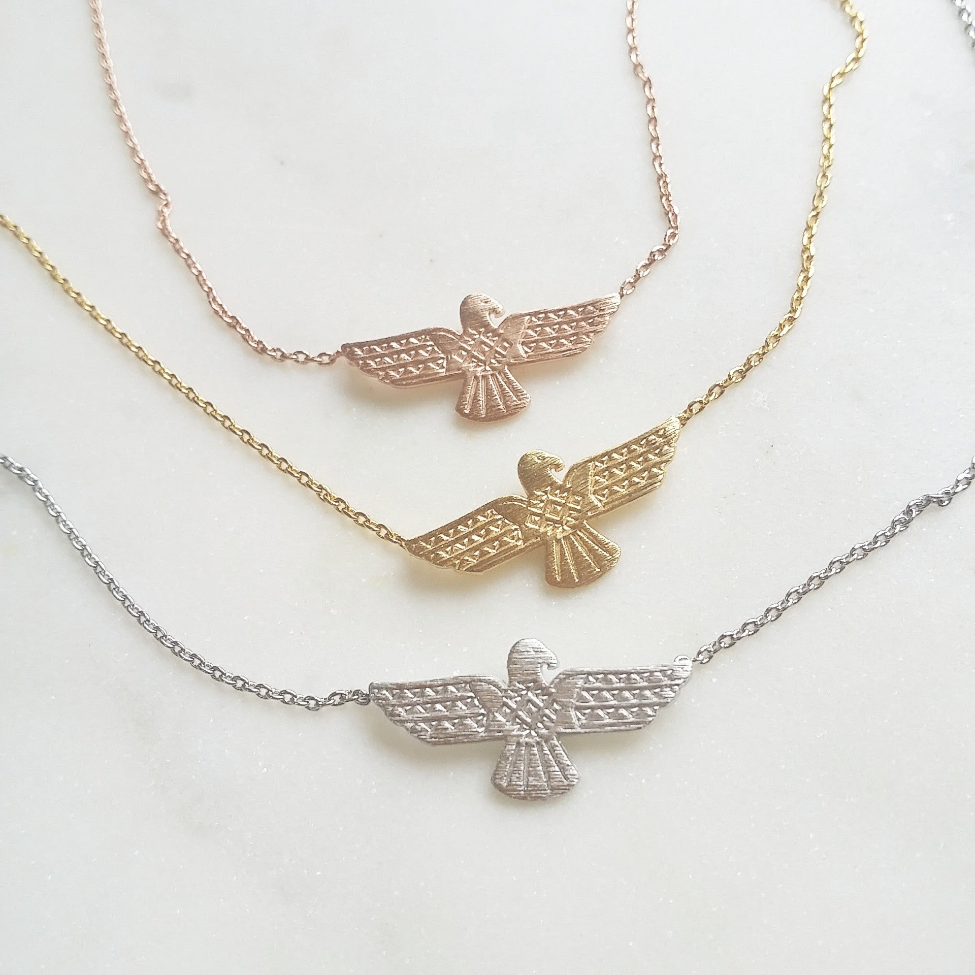 eagle gold overstock today necklace shipping hills jewelry pendant product free watches black