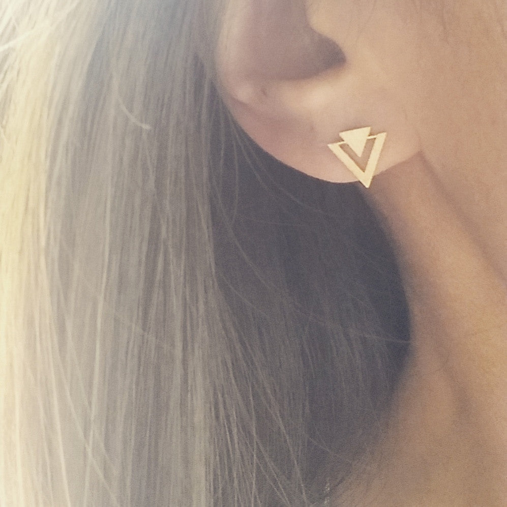 Apex Spike Earrings