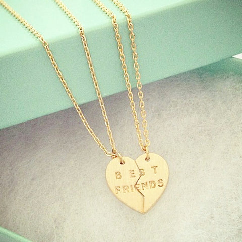 BEST FRIENDS (BFF) Necklace (set)