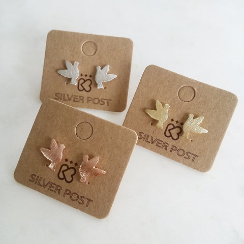 Dove Bird Earrings