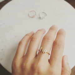 Multi-stacked Bar Ring