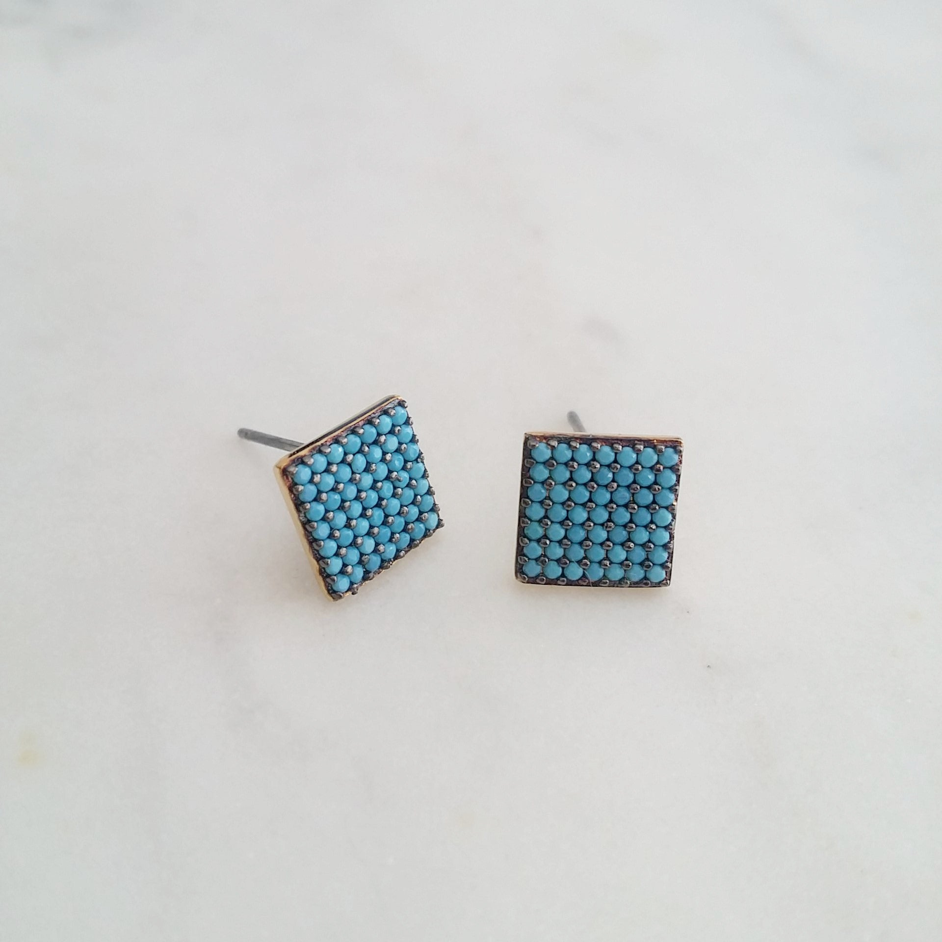Square Nano Earrings