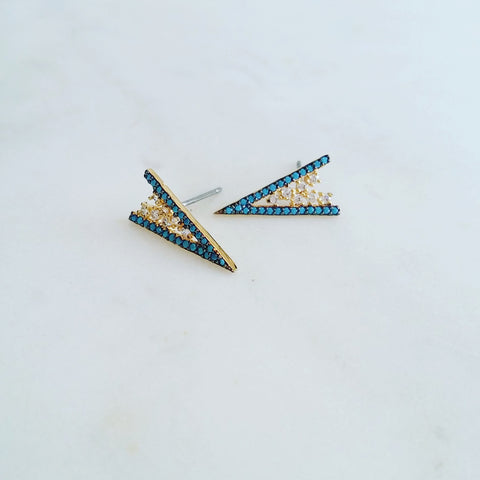 Dagger Peak Nano Earrings