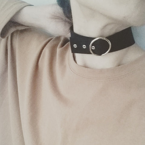 Choker: Circle Buckle (Large)