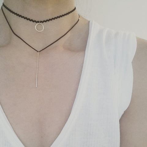 Choker Layer: Circle + Bar