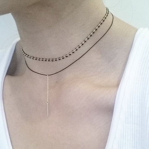 Choker Layer: Chain Bar