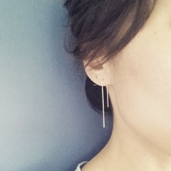 Open Hoop Earrings - Disc