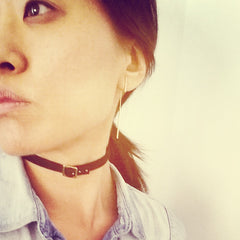 Choker: Square Buckle