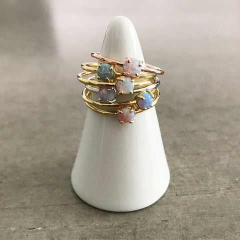 Opal: Round Ring