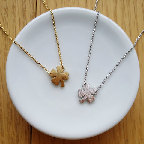 Clover / Shamrock (Solid) Necklace
