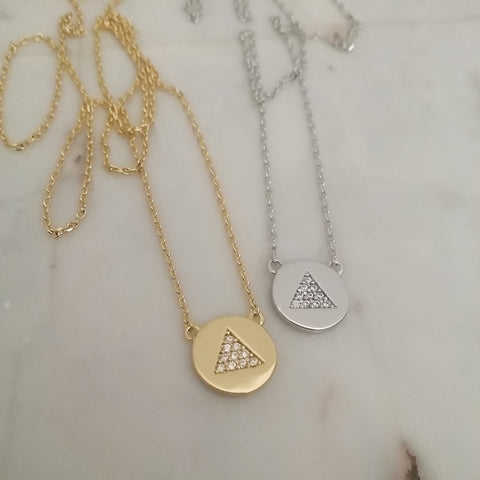Delta Medallion Necklace