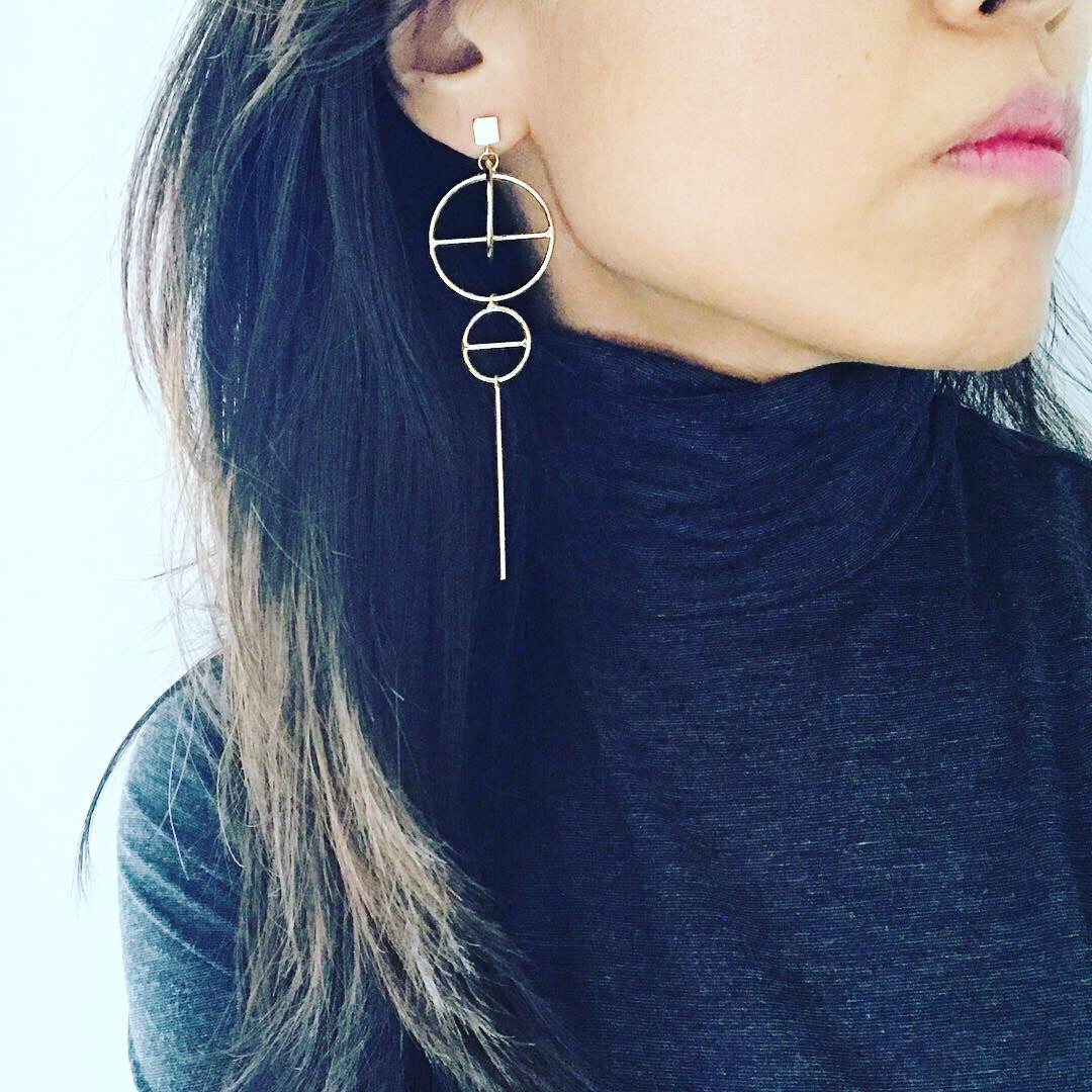 Circle Mobile Earrings