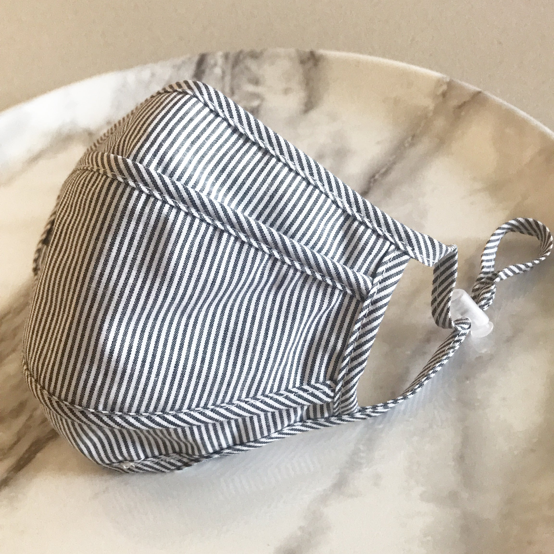 Protective Face Mask | Denim Stripe