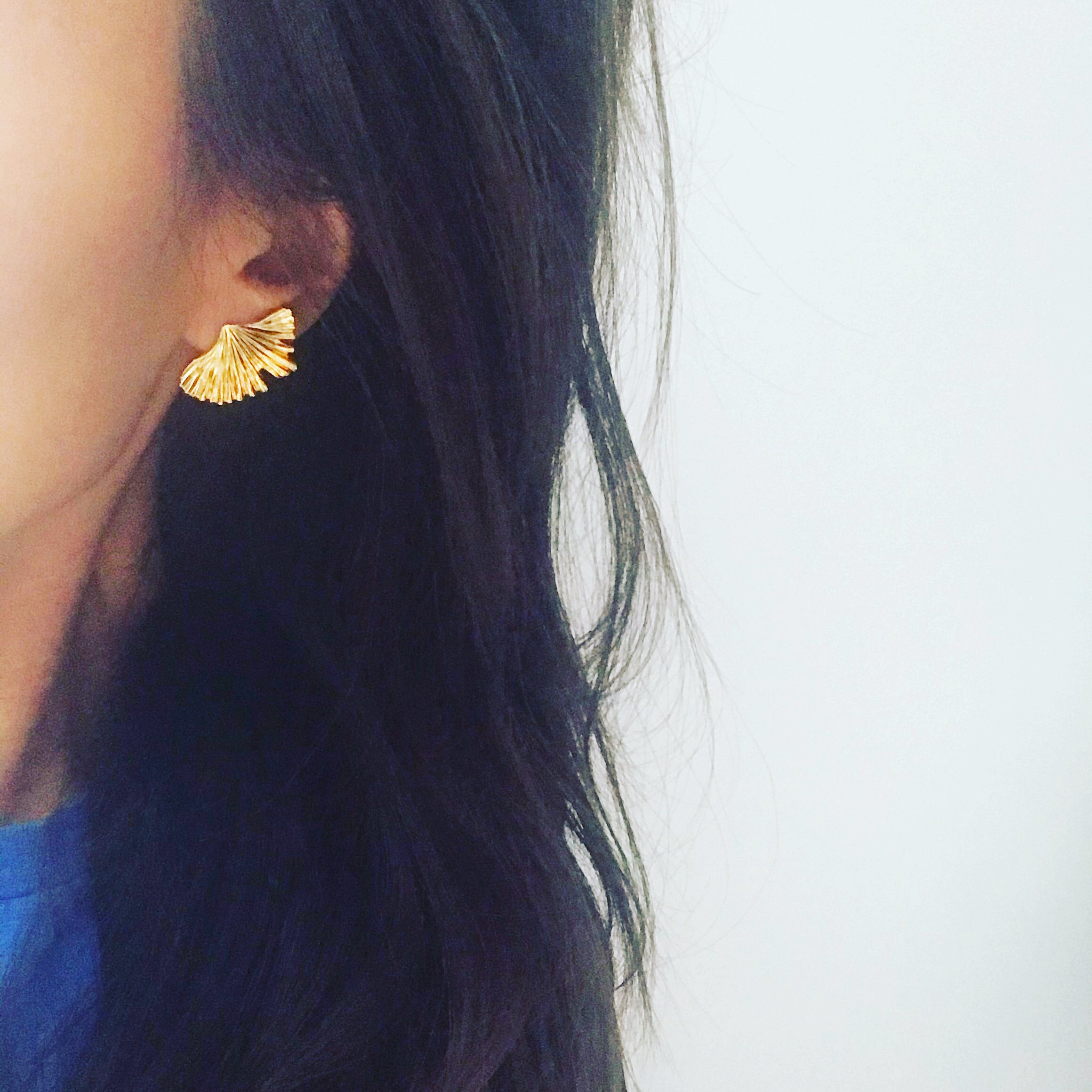 Ginkgo Earrings
