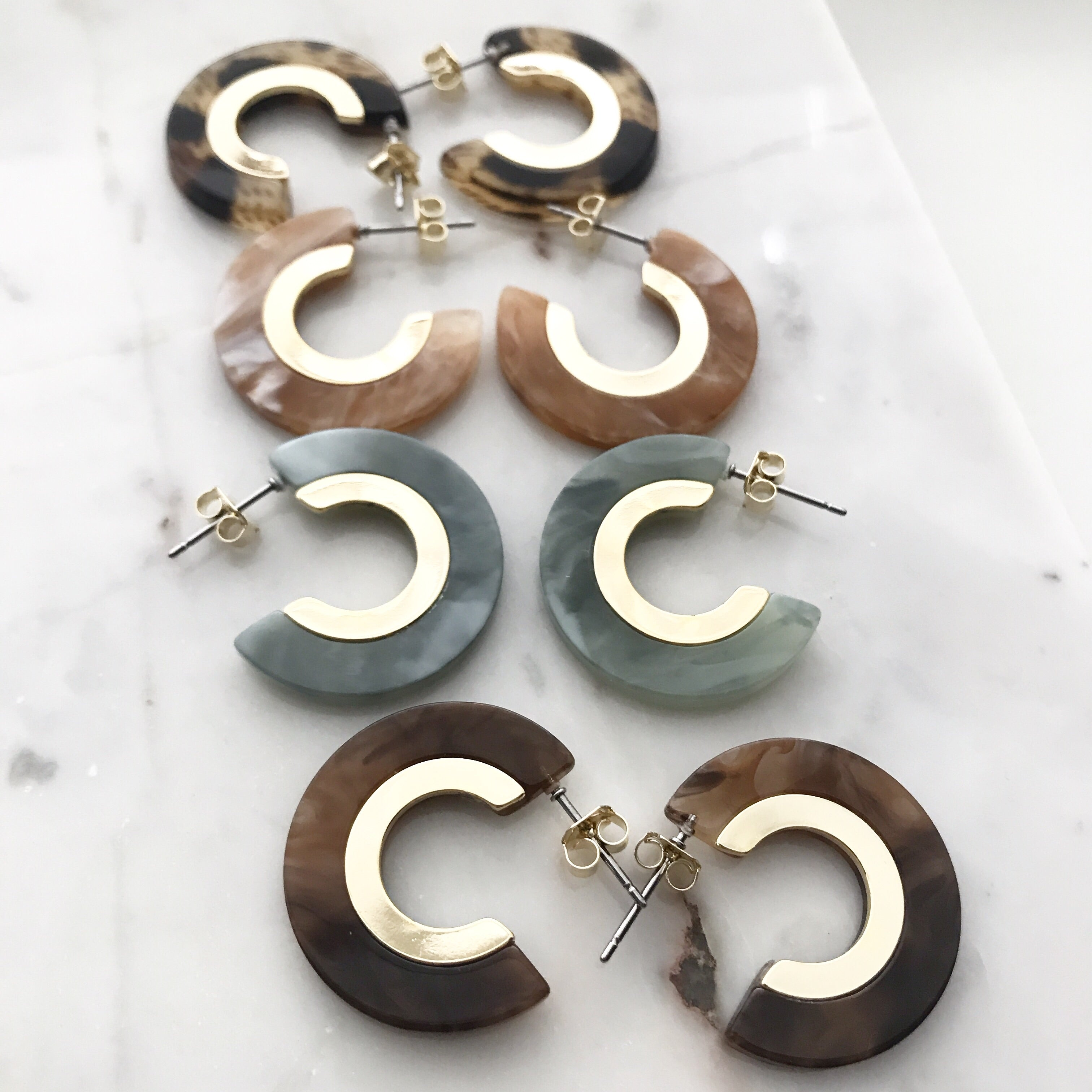 Resin Hoops (Small)