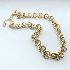 Rolo Link Chain Necklace