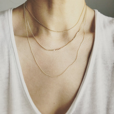 Layered Necklace: Classic