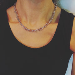 Hardware Link Chain Necklace