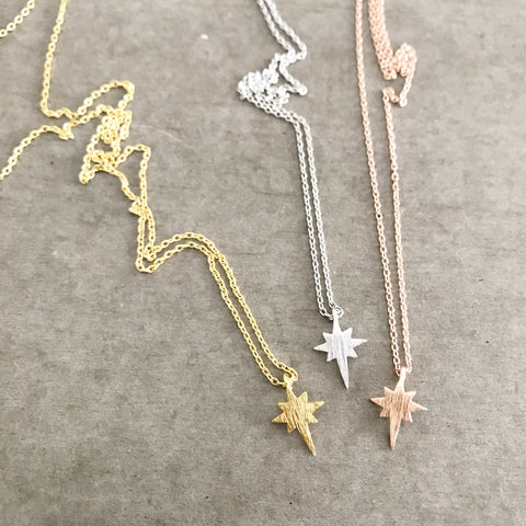 North Star (Starburst) Necklace