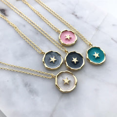 Star Coin Necklace