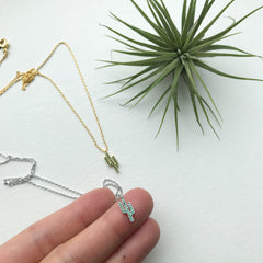 Cactus (Green) Necklace