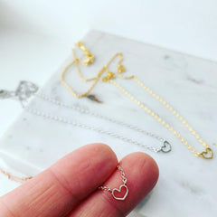 Teeny Heart Necklace