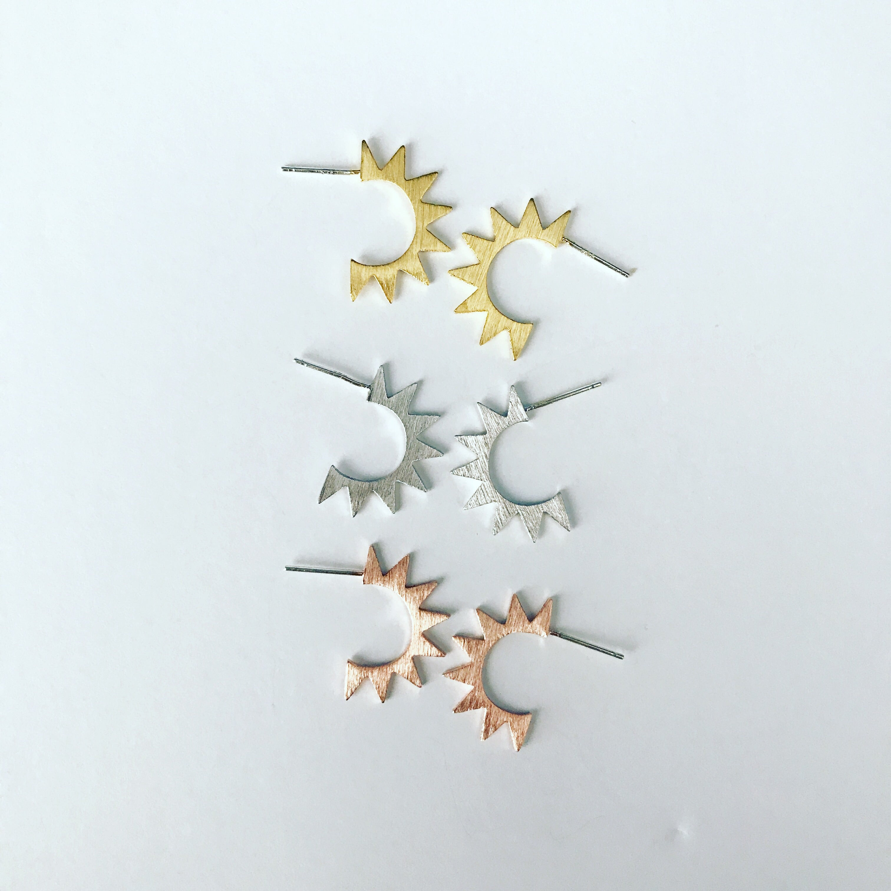 Spike Explosion Earrings