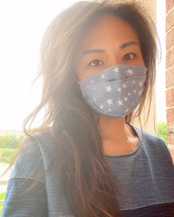 Protective Face Mask | Denim Stars
