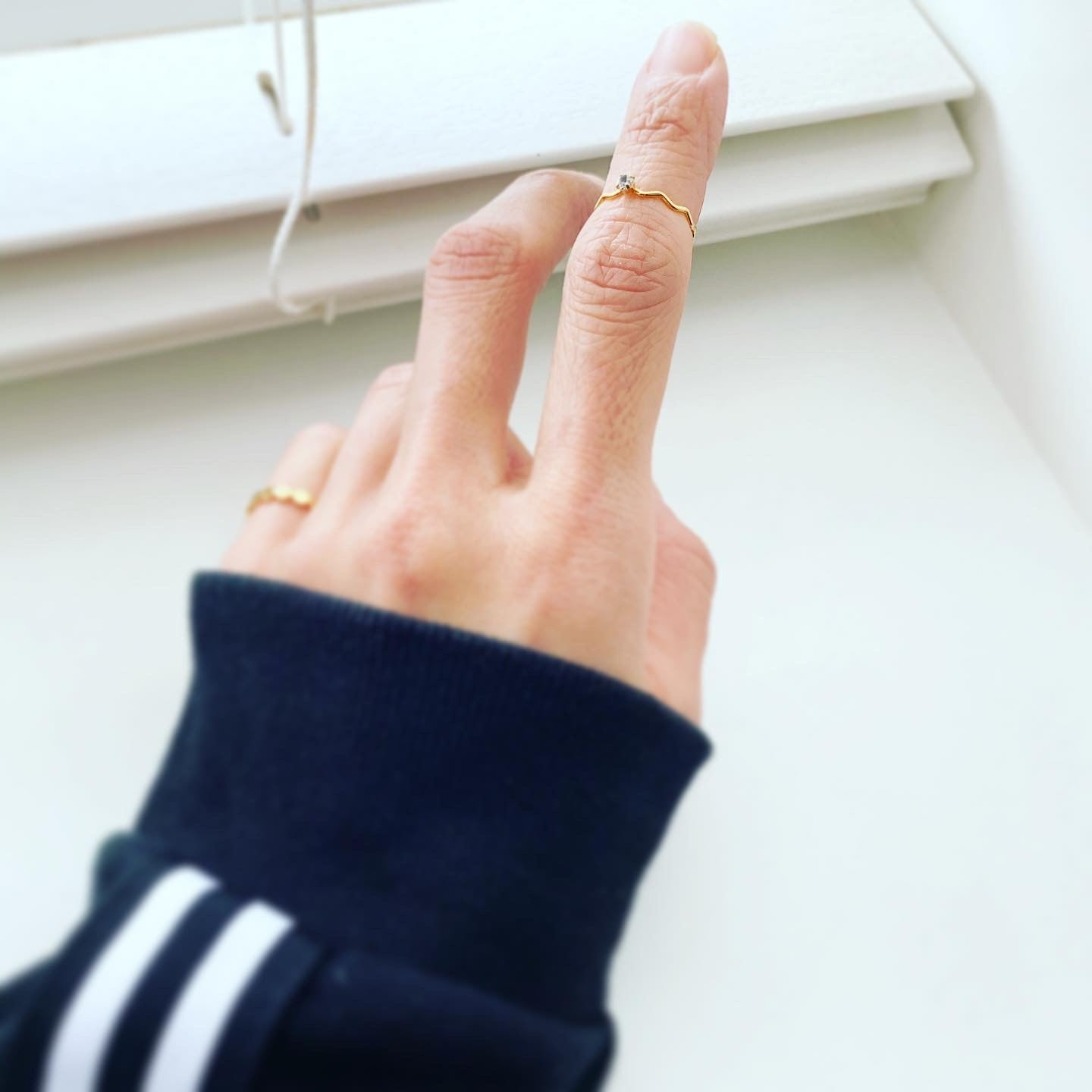 Midi Knuckle Cubic Ring