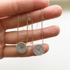 Flawless Disc Necklace