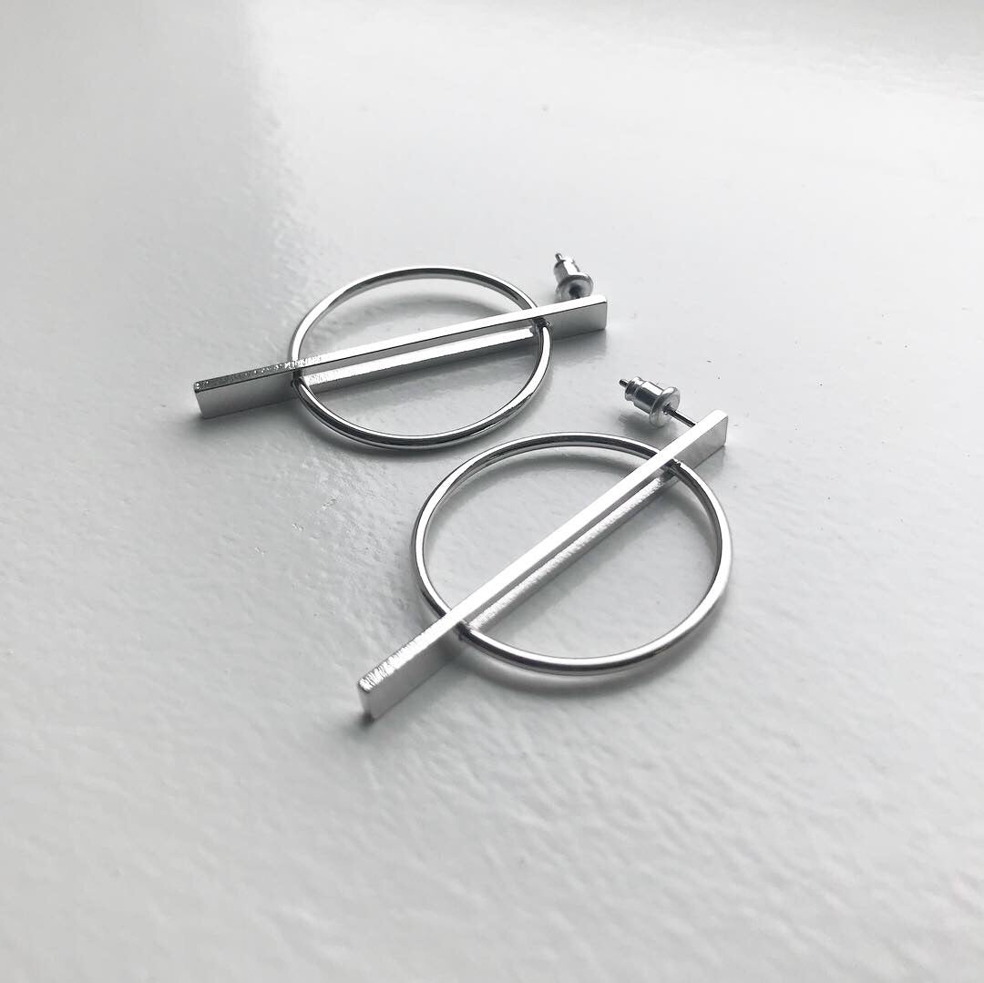 Circle Mod Earrings