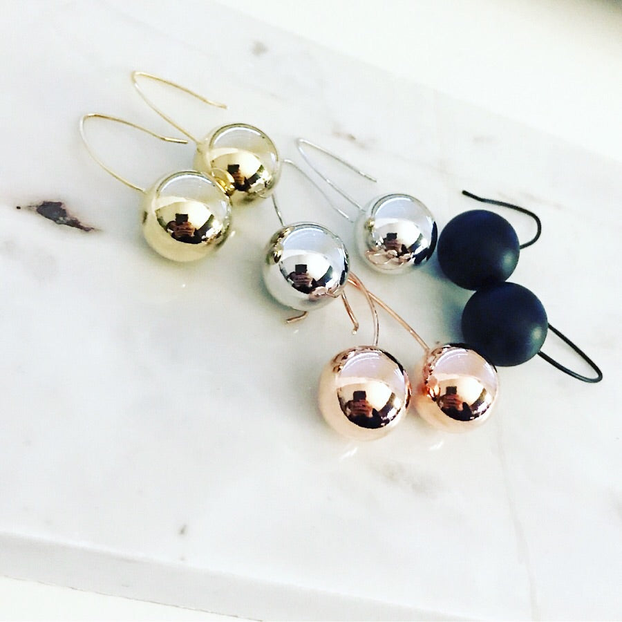 Ball Hook Earrings