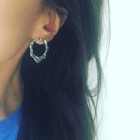 Open Cone Earrings