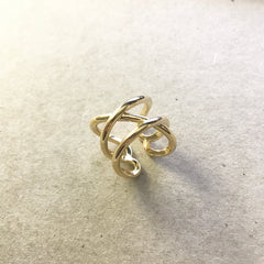 Cross Weave Ring