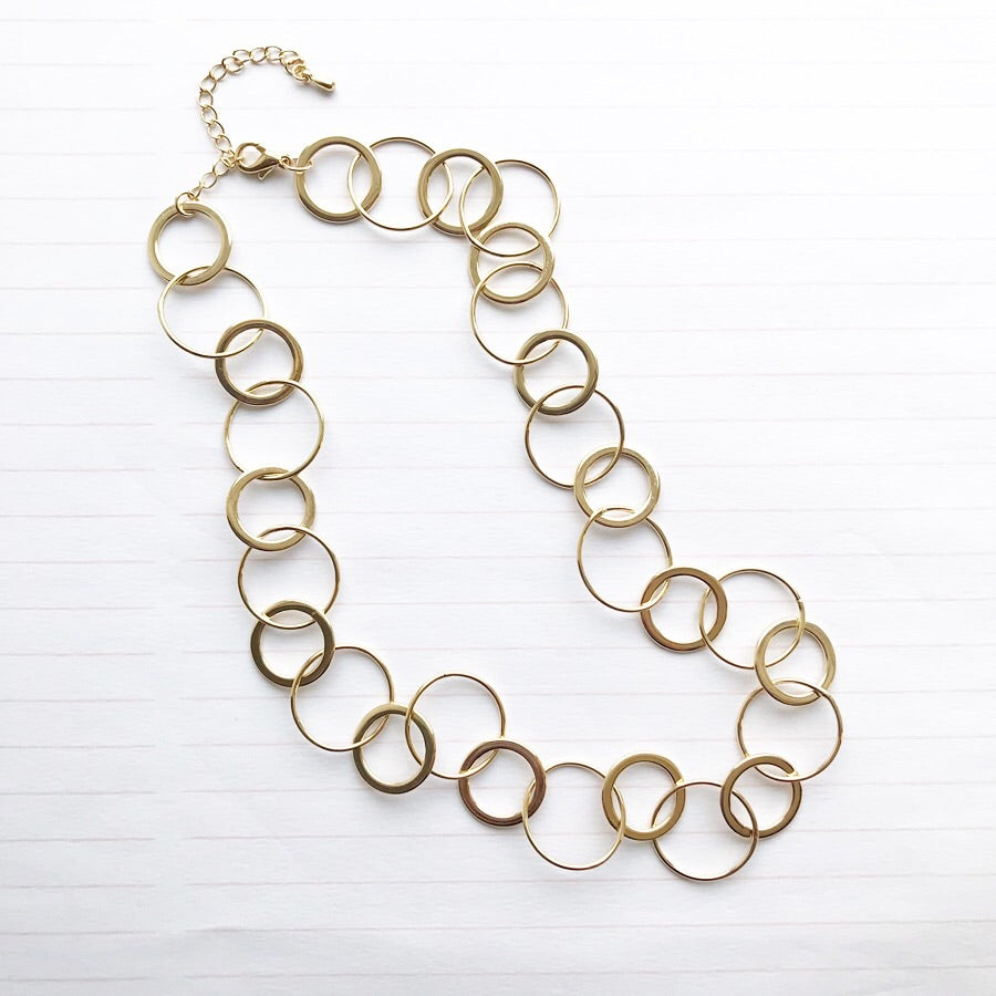 Circle Links Necklace