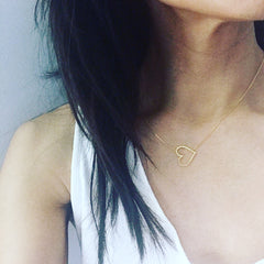 Heart Cutout Necklace