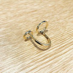 Double Circle Floating Ring