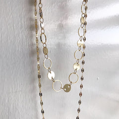 Layered Necklace: Twist Chain