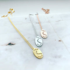 Zodiac Constellations Necklace