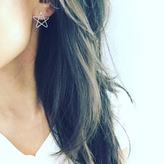Star Doodle Earrings