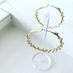 Bling Bling Hoop Earrings