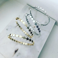 Star Mania Hoop Earrings