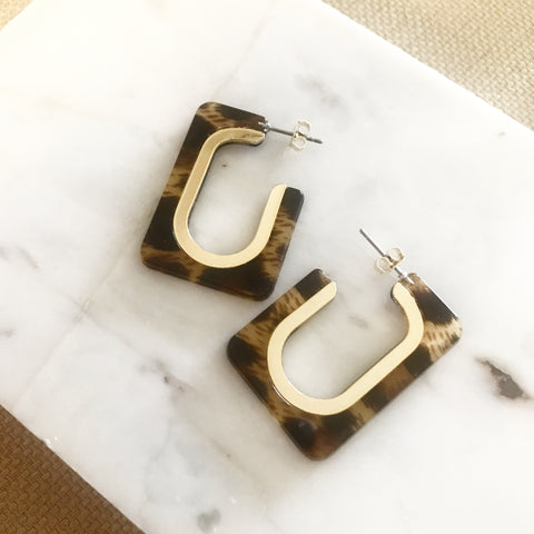 Resin Rectangular Hoops
