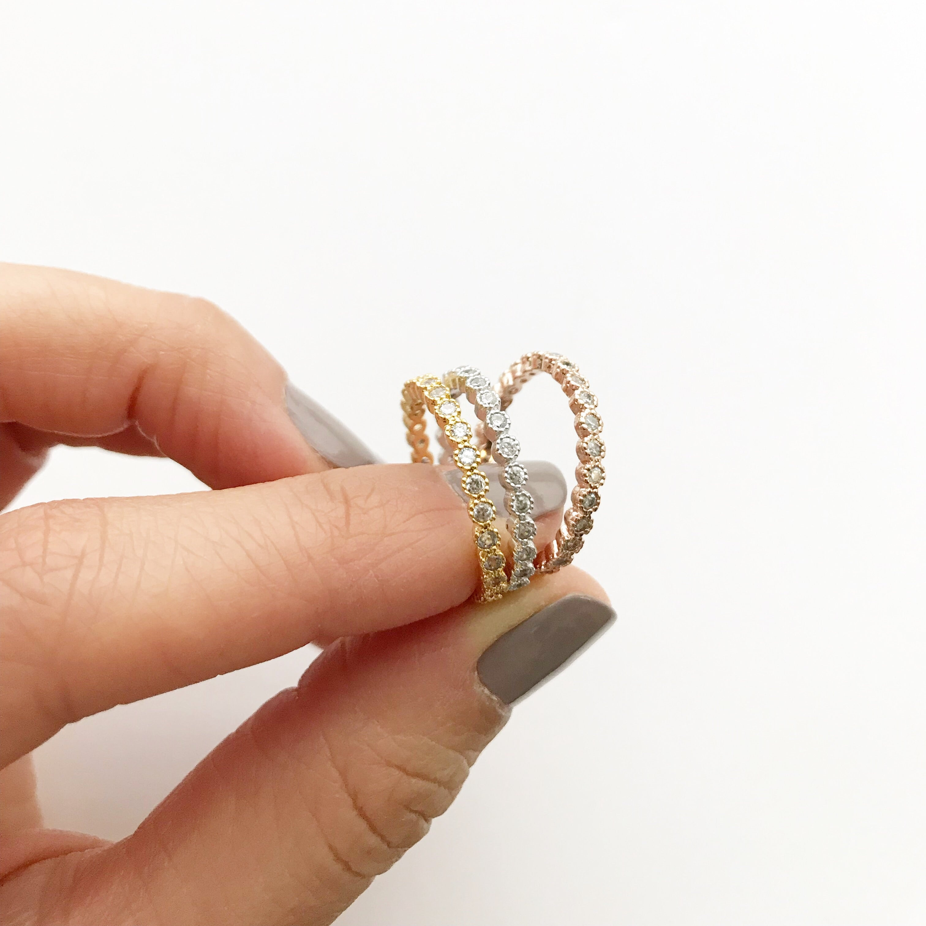 Eternity Band (Stacking) Ring
